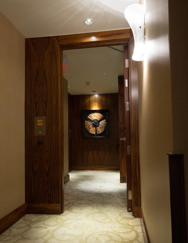 Shangri La Vancouver hallway