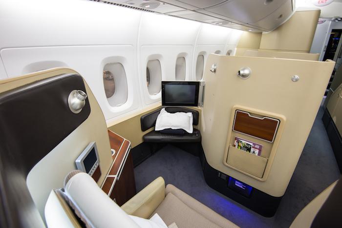 Qantas A380 First Class Seat