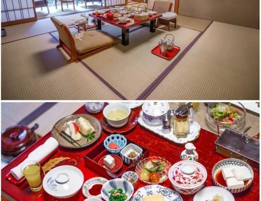Hiiragiya Breakfast Setup