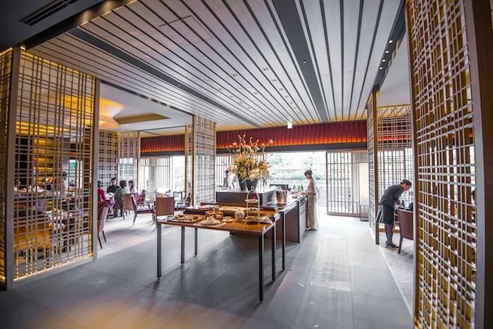 RItz Carlton Kyoto Afternoon Tea Room