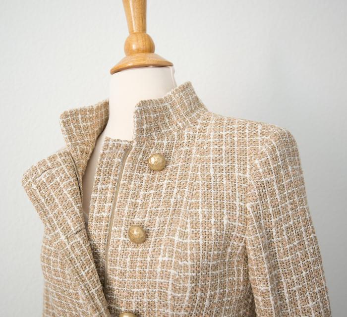 Chanel Beige 15P Jacket Details