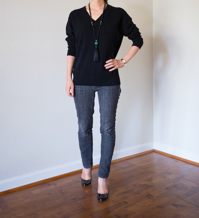 Everlane Black Cashmere