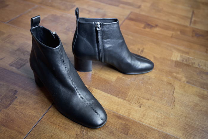 The Everlane Day Boot Feather Factor