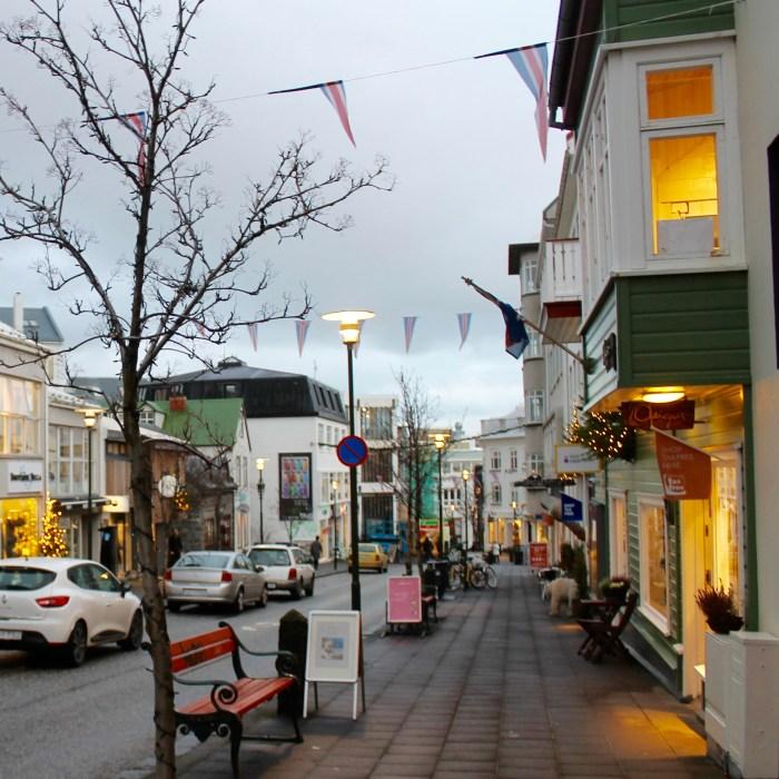 Laugavegur, Reykjavík, Iceland
