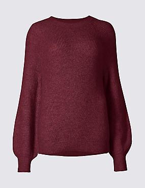 Grape sweater