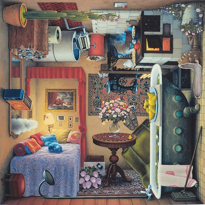 Jacek Yerka - boudoir
