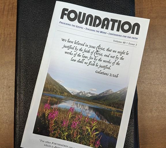 New Foundation Magazine