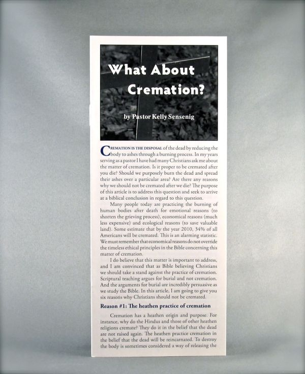 What About Cremation?