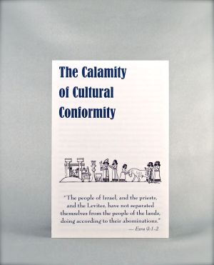 The Calamity of Cultural Conformity