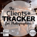 Clients+ Tracker for photographers - FEATURED photog
