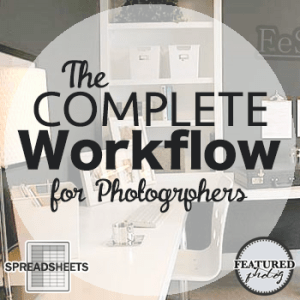Complete Workflow for photographers