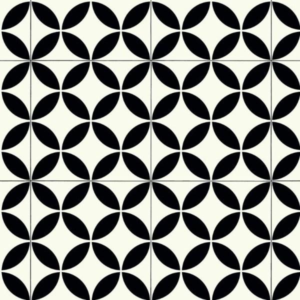 Ronda Black Sheet Vinyl Flooring