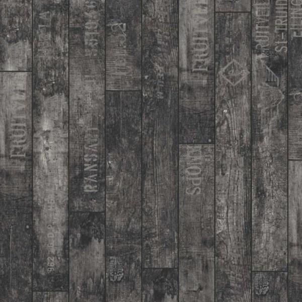 Wine & Fruits Black Laminate Flooring