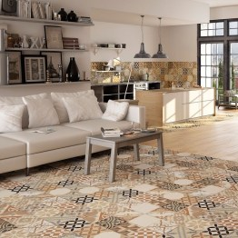 Ribera Brown Ceramic Floor Tiles
