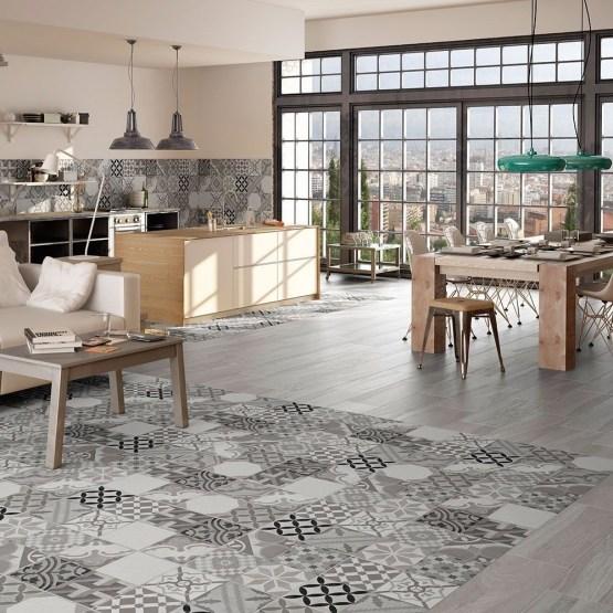 Ribera Grey Ceramic Floor Tiles