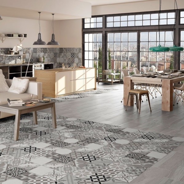 Ribera Grey Ceramic Floor Tiles