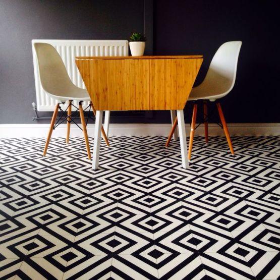 Granada Black Sheet Vinyl Flooring