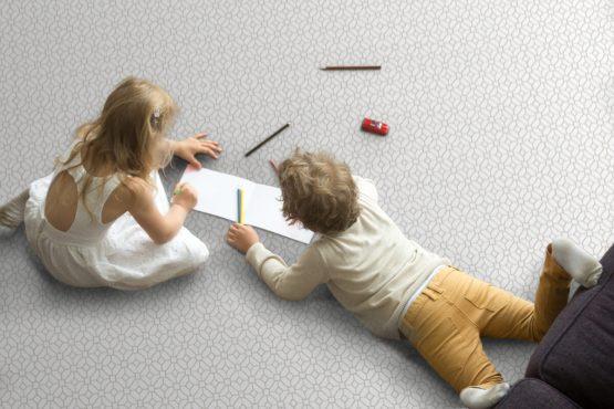 Lattice floorpops floor tiles