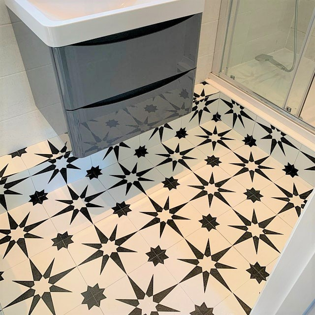 altair vinyl floor tiles customer photo