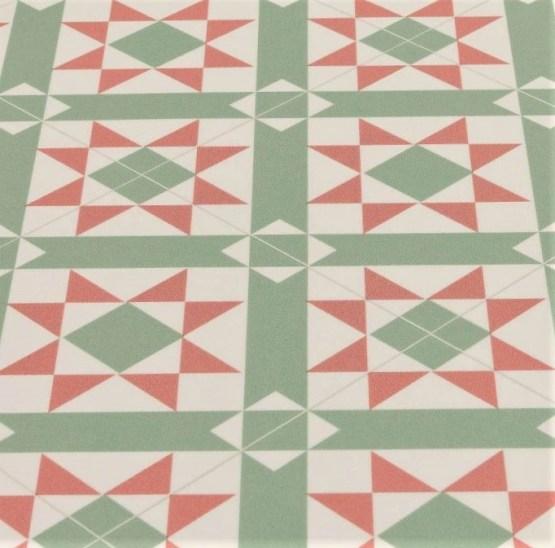 Evelyn Green Sheet Vinyl Flooring
