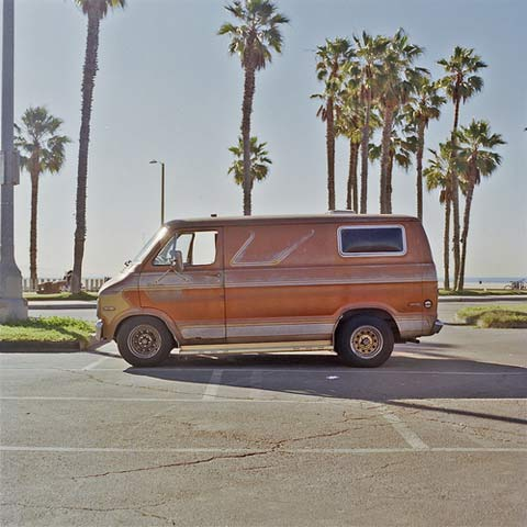 California vans Joe Stevens photography