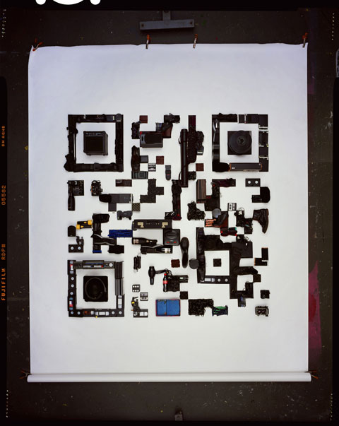 David Sykes photography QR code