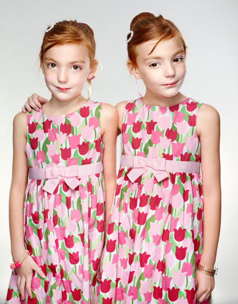Identical Twins Photographed By Martin Schoeller