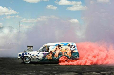 burnout competition Australia Simon-Davidson photography