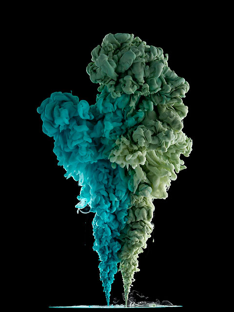 Captivating Photos Of Cloud Like Masses Created When Paint