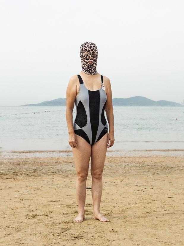 Quirky Photos Capture Chinas Bizarre Facekini Trend Feature Shoot