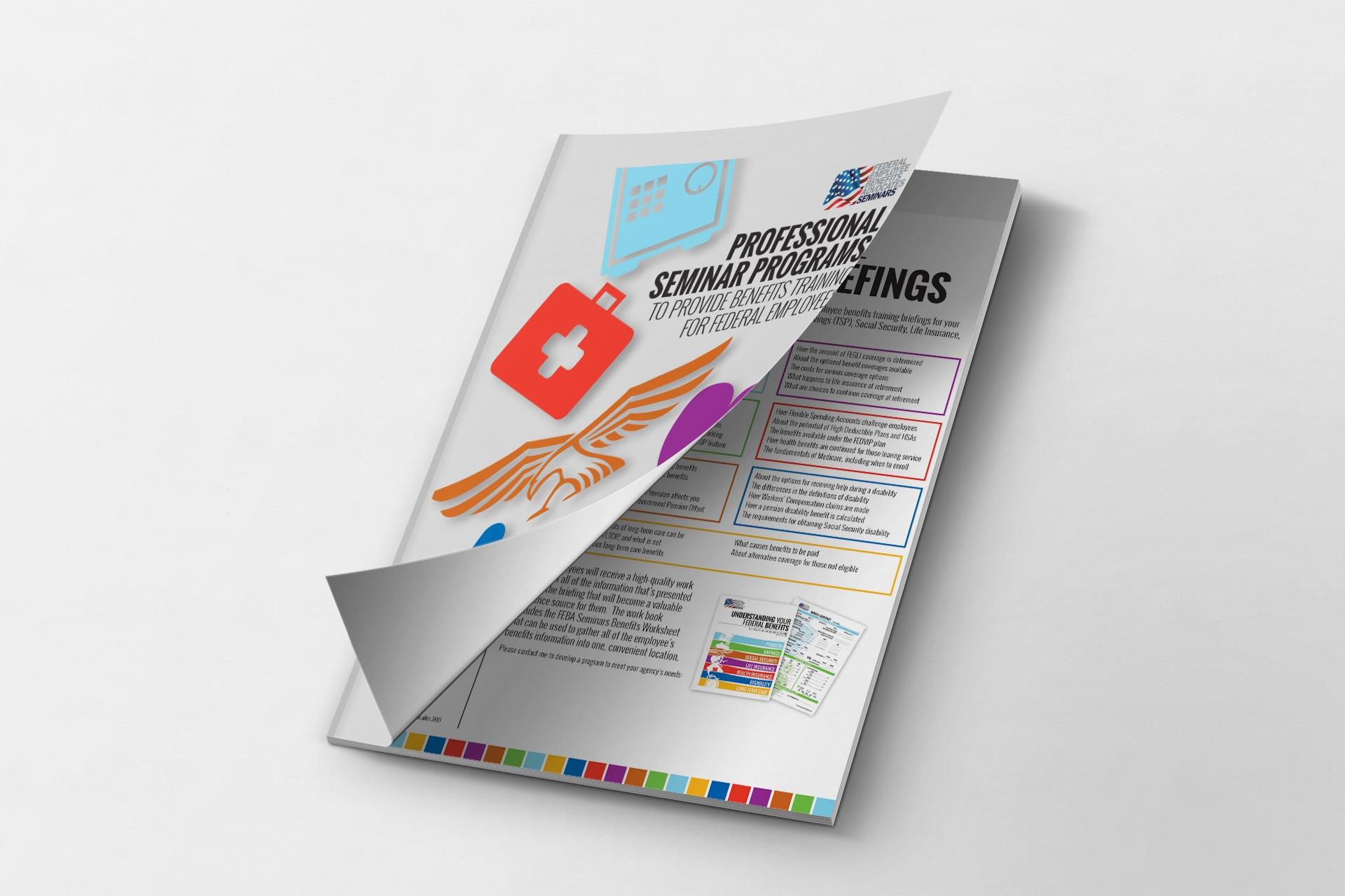 Benefits Briefing Presentation Book Laminated Federal