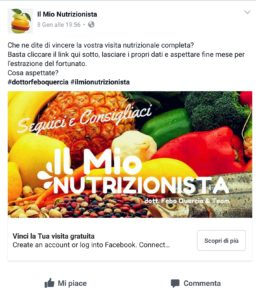 dieta personalizzata napoli