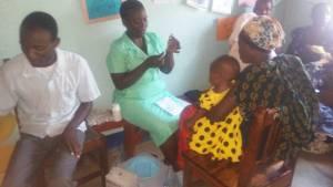 Actividad de nuestra clínica Materno-Infantil en MWANZUGI