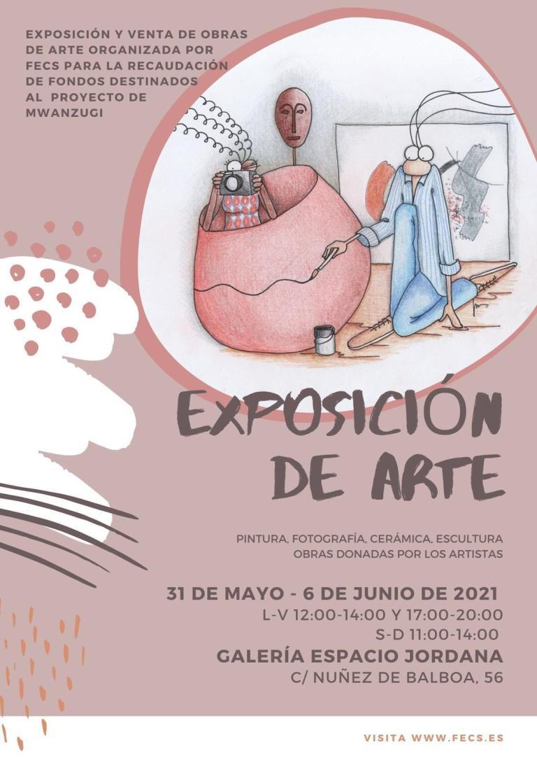 Cartel Exposicion Arte Frec 2021