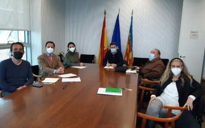 FEDACOVA se reúne con el director general de Desarrollo Rural para tramitar la modificación técnico-sanitaria de la horchata