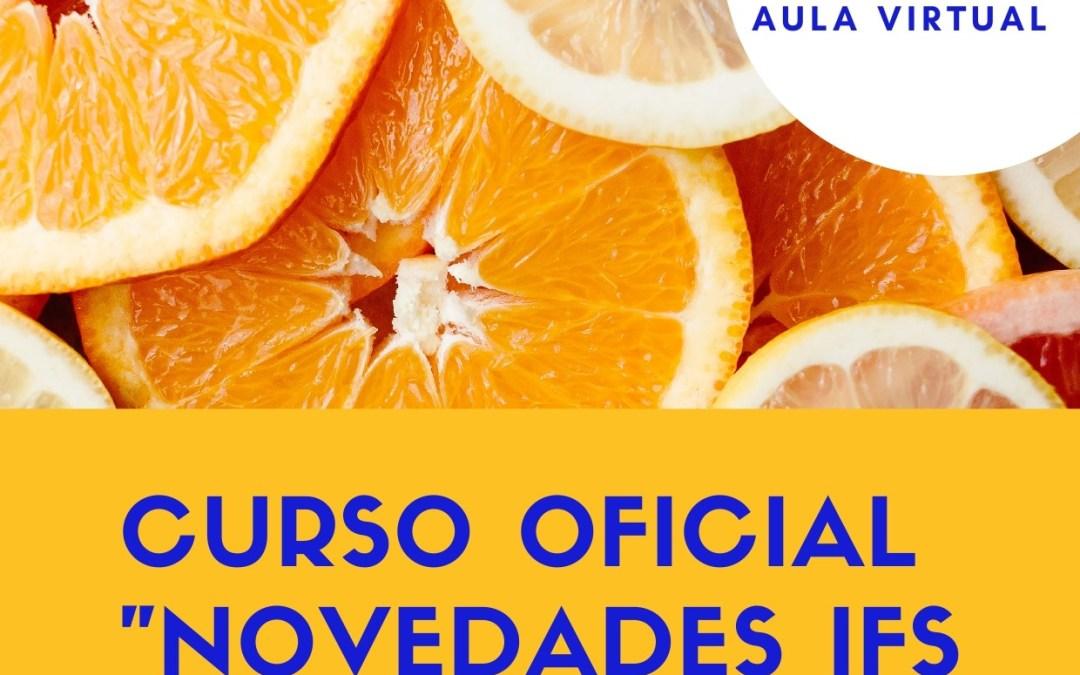 """Curso oficial: """"Novedades IFS Food versión 7"""""""