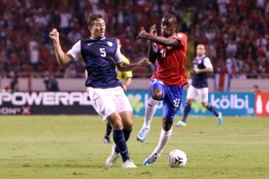 Mathew Besler Joel Campbell Costa Rica vs USA Brasil 2014