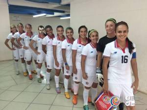 previo al partido sele femenina CRC vs SLV
