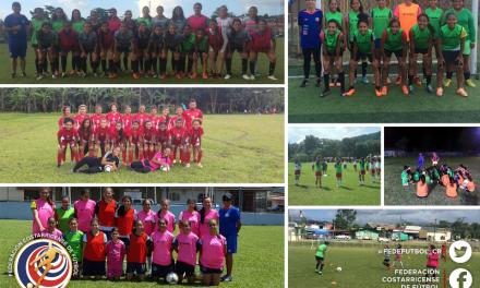Regionales femeninas entran a la recta final