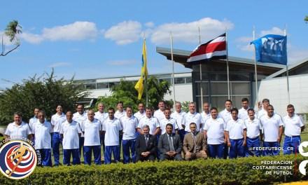 Técnicos de regionales satisfechos con curso FIFA