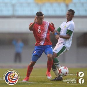 CRC vs Arabia Saudita Sub 20 Amistoso mayo 2017-2