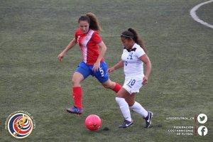 CRC vs Honduras sub 20 femenina 2017