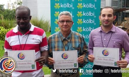 FEDEFUTBOL y Kölbi ayudan a cumplir tres sueños