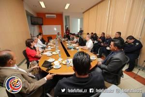 Reunión UNAFUT-MSP 2