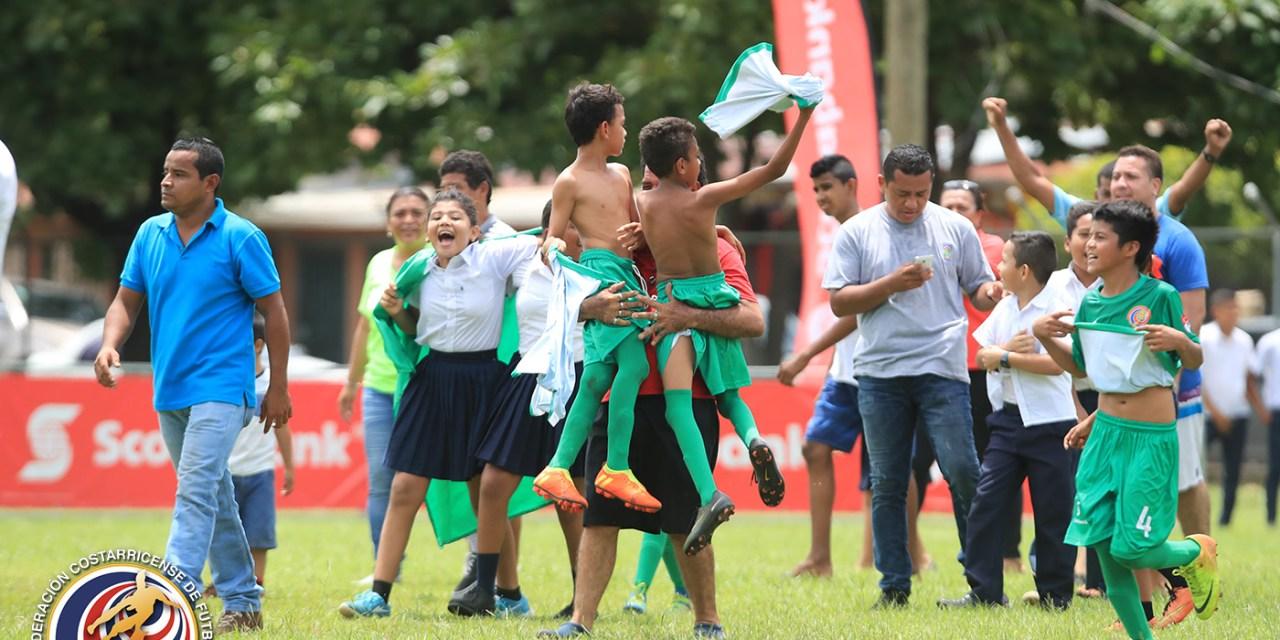 Santa Cruz vibró con torneo infantil Scotiabank