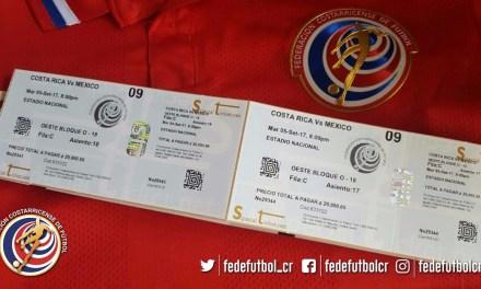 FEDEFUTBOL ampliará control de entradas para CRC vs MEX