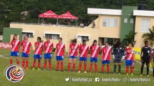Sele Sub 17 Femenina, fogueo con Jamaica 29 set 2017