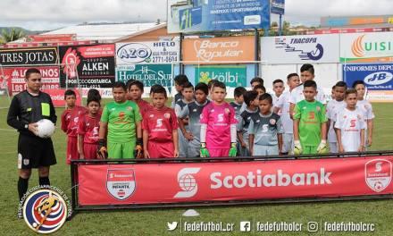 Generaleños calentaron torneo Infantil Scotiabank-FEDEFUTBOL