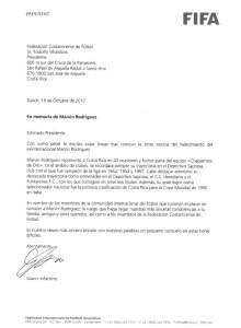 Carta FIFA Marvin Rodríguez