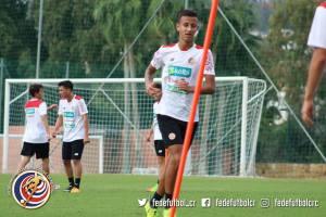 Greivin Fonseca jugador Sele Sub 17